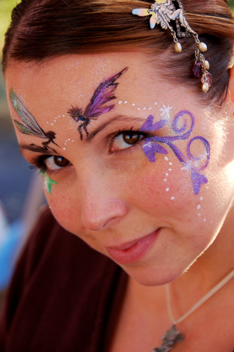 Fairy Face Painting - Illusions Face and Body Art